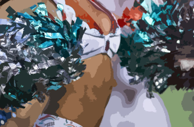 Femdom feminization cheerleader