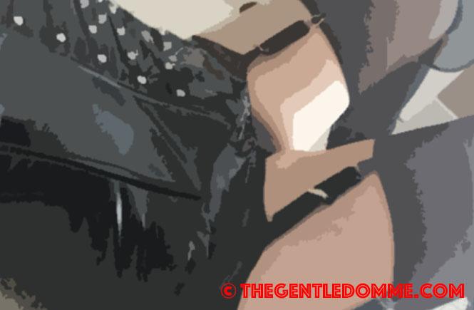 gentle femdom garters