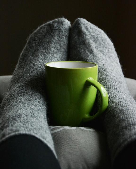 cozy gentle femdom