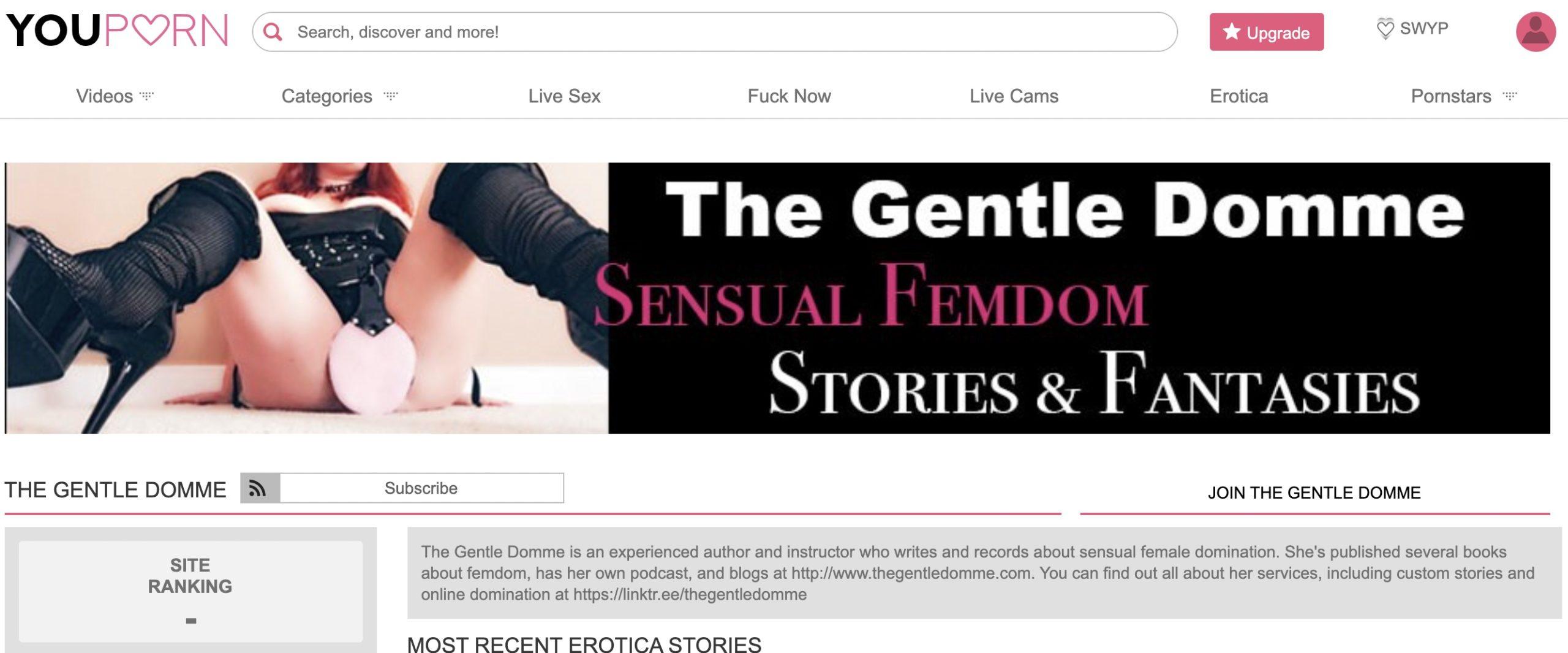 gentle femdom erotica youporn